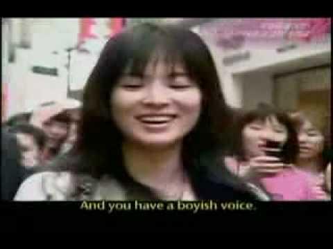 Song Hye Kyo - KBS Entertainment Relay [eng subs]