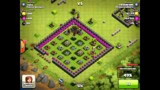 Clash Of Clans - Epic 1.2 Mil Resource Raid - Wow