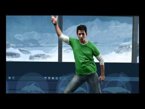 Bollywood Star Sharman Joshi dances with a Penguin!