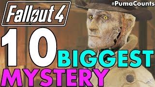 Top 10 Biggest Mysteries and Unanswered Questions in Fallout 4 (Lore) #PumaCounts