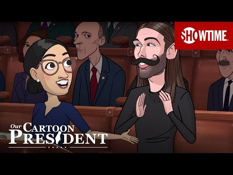 'The Green New Deal' Ep. 1 Official Clip ft. Cartoon Jonathan Van Ness | Our Cartoon President