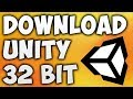 How To Download Unity 32 Bit - Install U