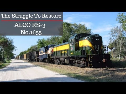 The Struggle To Restore Seaboard Airline Railroad Alco No.1633