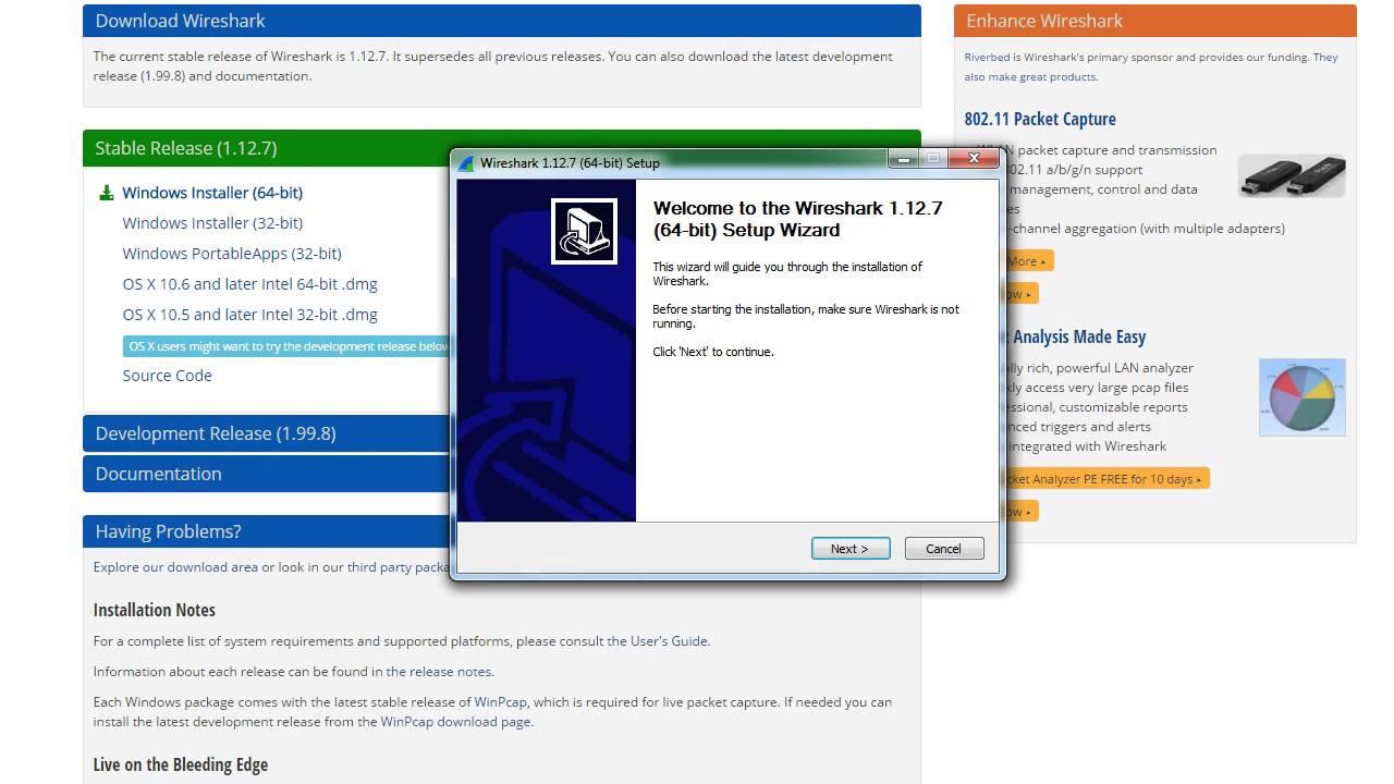Wireshark Tutorial for Beginners - 1 - Installing