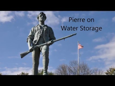 Preparedness Seminar by MO Militia and St. Louis Oath Keepers Part 1 of 6 - Water Storage