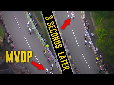 Van der Poel's Top Finishes (Sprints/Uphill) With Tracking