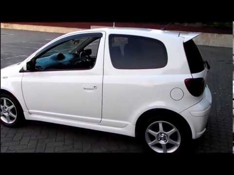 2004 toyota yaris vitz rs trd turbo youtube. Black Bedroom Furniture Sets. Home Design Ideas