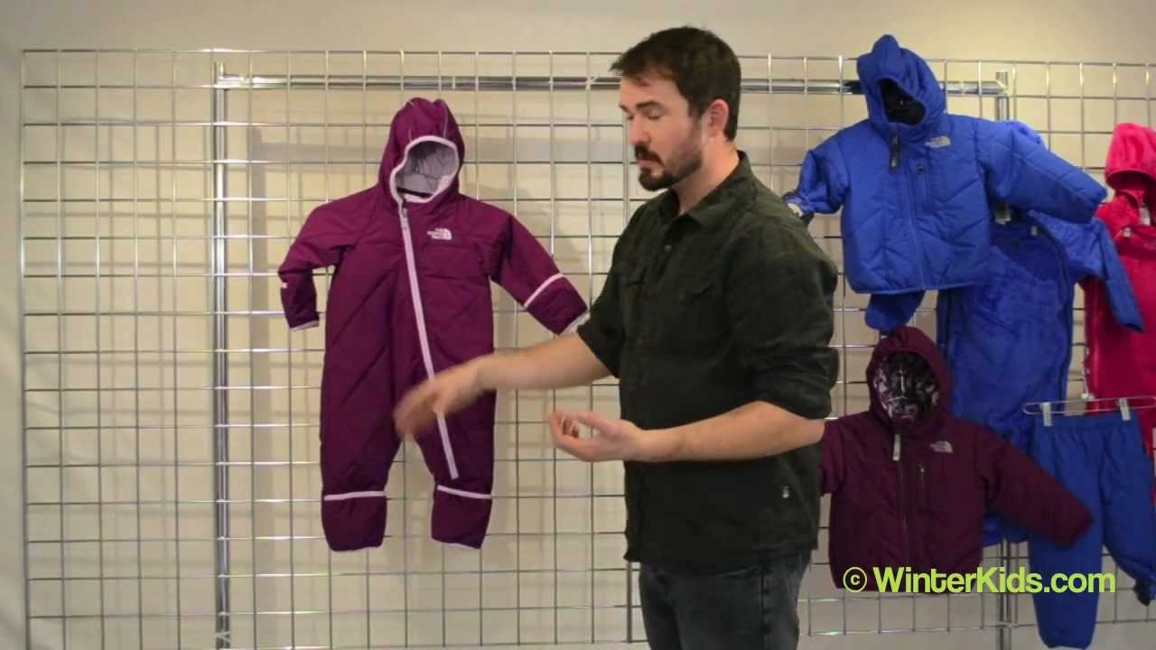 01f4bda0b 2012-2013 The North Face Infant Toasty Toes Bunting - YouTube