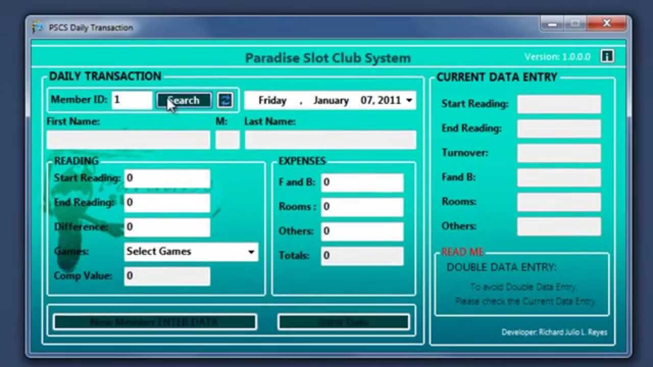 My First Vb Net Project Casino Slot System Youtube