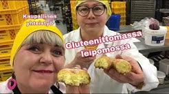 Vierailin gluteenittomassa leipomossa