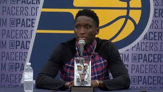 Victor Oladipo Most Improved Player Press Conference