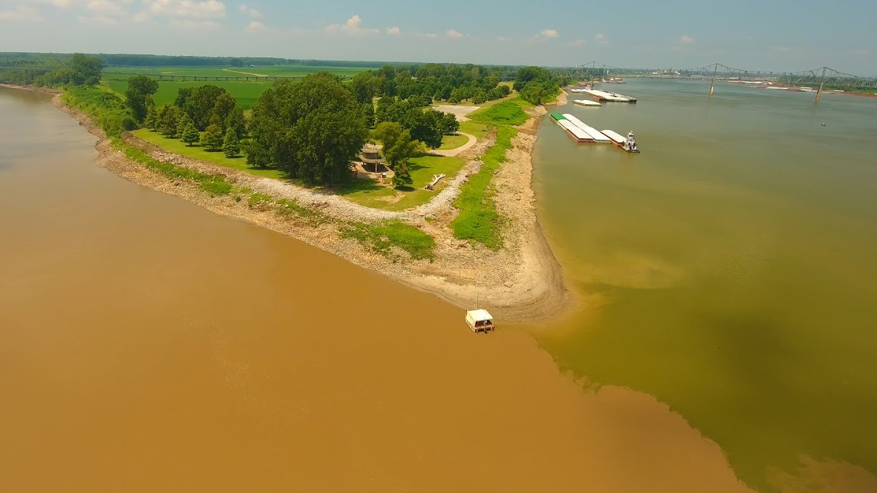 where do ohio and mississippi rivers meet