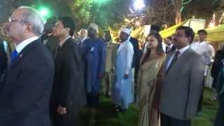 Independence Day programme Part 2 - National Anthem of India & Bangladesh