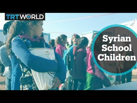 The War in Syria: Many schools without funding in Idlib province