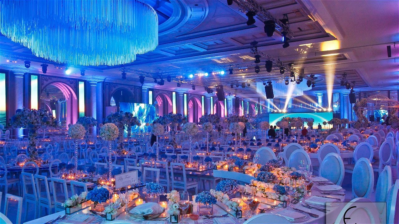 fadi fattouh wedding decoration biel 2014 youtube