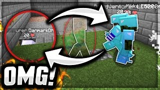 They Are HUNTING Me!! - Minecraft Invisible Raiding Troll