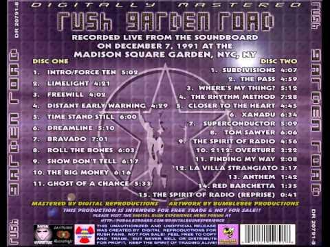 RUSH - GARDEN ROAD