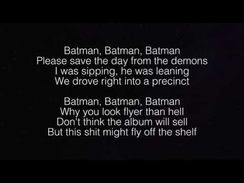 Jaden Smith Batman Lyrics