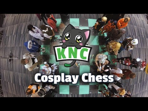 KuroNekoCon 2017 Cosplay Chess in 4K