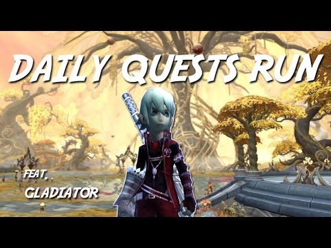 Gladiator Daily Quest Run (Anu Arendel Chaos / Abyss) - Drag