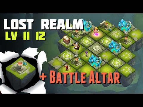 Castle Clash: Lost Realm 12 + Battle Altar Strategy