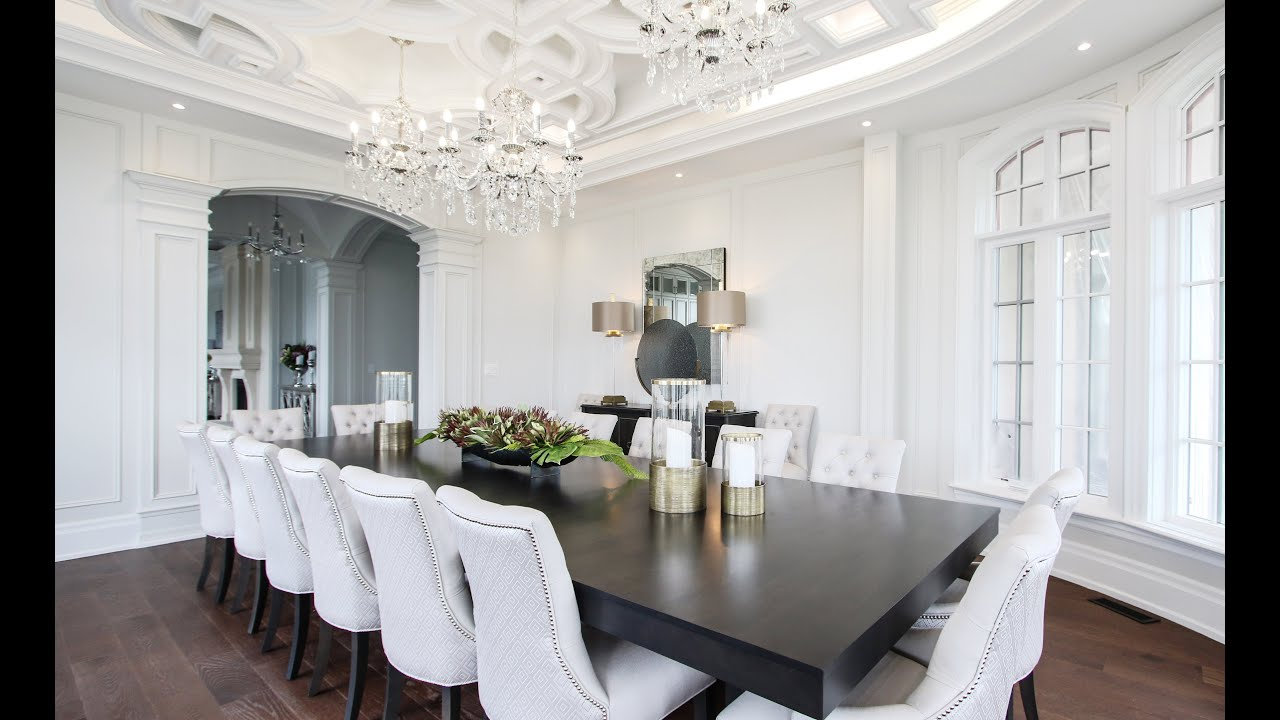 Beautiful Large Dining Room Makeover Transformation + Design Tips | Kimmberly Capone Interior Design