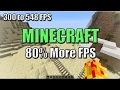 How to boost FPS in Minecraft up to 80% (New Launcher) (64bit Java Only)