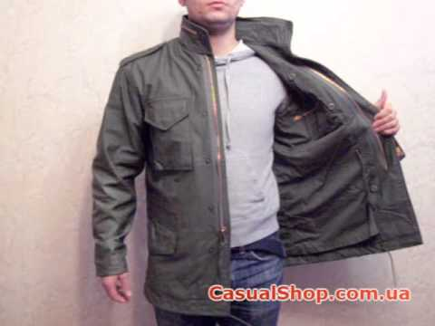 alpha industries m 65 field coat youtube. Black Bedroom Furniture Sets. Home Design Ideas
