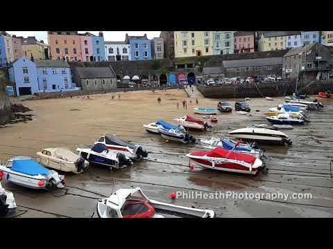 An Afternoon in Tenby, Pembrokeshire, Wales - 23rd July 2017