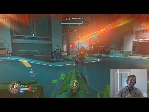 Playing Overwatch using voice commands is pretty amazing