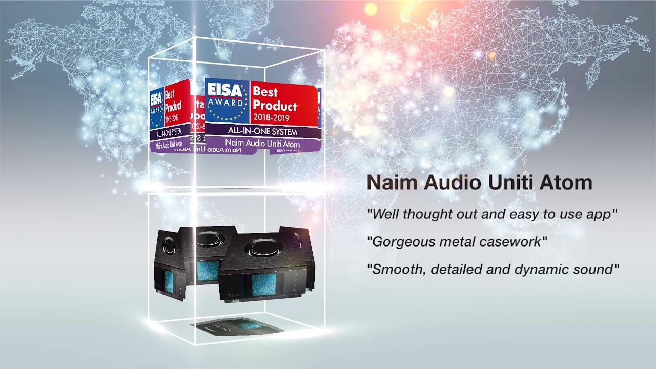 Naim Audio Uniti Atom Wins EISA Award - YouTube