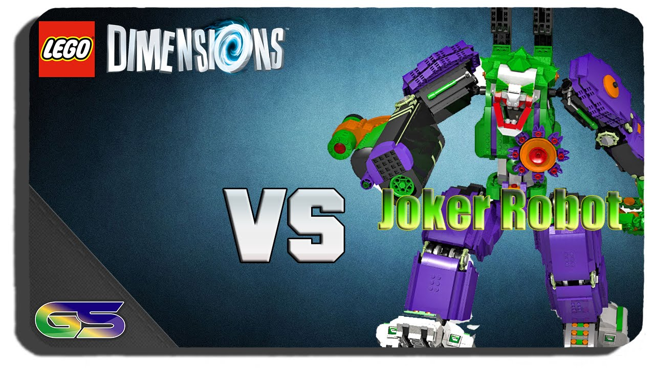 lego dimensions the joker giant robot boss fight youtube. Black Bedroom Furniture Sets. Home Design Ideas