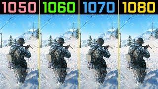 Battlefield V GTX 1050 Ti vs. GTX 1060 vs. GTX 1070 vs. GTX 1080 (Beta)