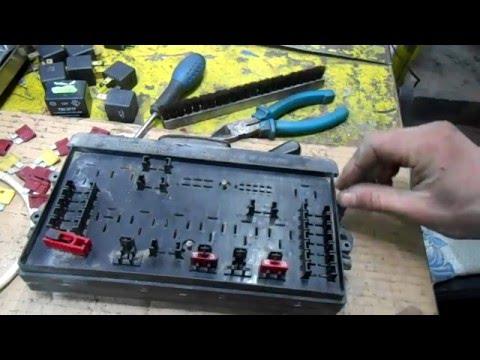 Как починить блок кнопок стеклоподъемника ваз 2110-11-12