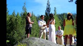 Ross Cole and Andrea Mountain Matrimony