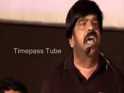 Tr Speaking English Comedy T Rajendran Rhyming Simbhu Youtube