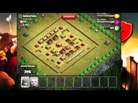 Clash of Clans Level 12 - Gobbotown