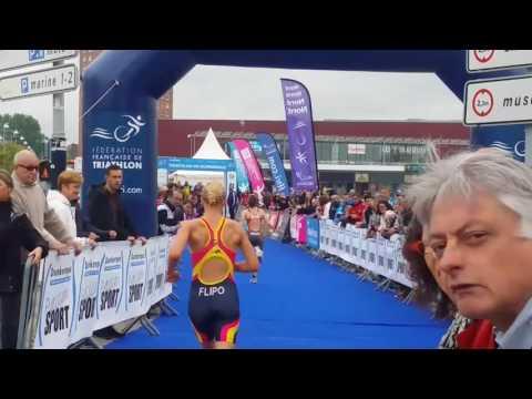 Grand prix-Championnat de France 2016 -Dunkerque épicentre du triathlon français et mondial.