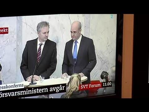 Lotta Hördin kommenterar Tolgfors avgång