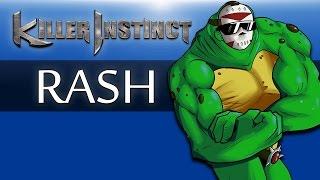 Killer Instinct Season 0 (Fighting with RASH!!!) Best of 0! BATTLETOADS!!!!!!
