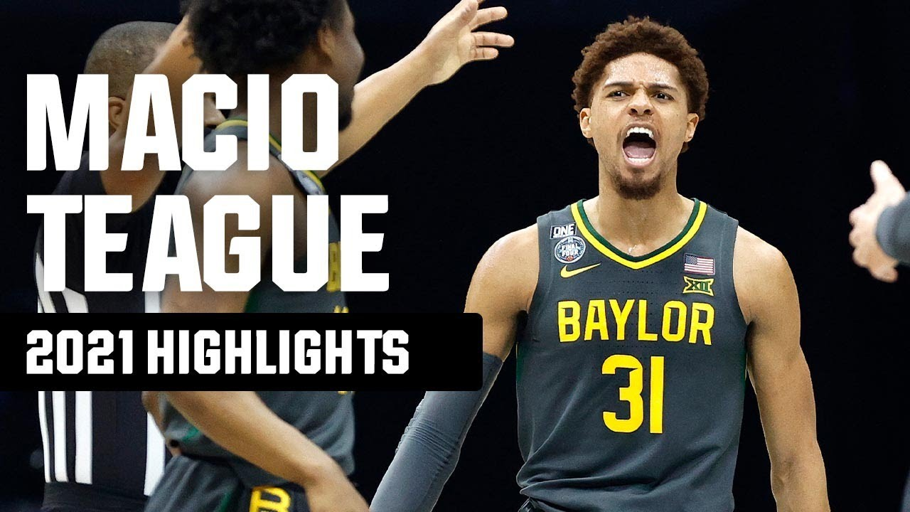MaCio Teague 2021 NCAA tournament highlights
