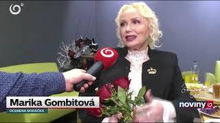 Marika Gombitova   Odovzdavanie cien PSK 2019