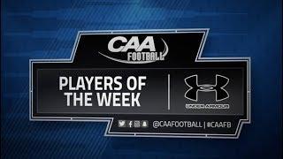 CAA Football Weekly Awards - Nov. 6th