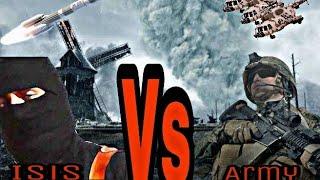 Gambar cover Army_vs_Isis. //My world song//.