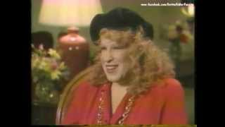 Bette Midler - Stella Interview 1990