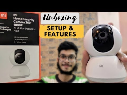 Mi Home Security Camera 360° 1080P - Unboxing, Setup & Features