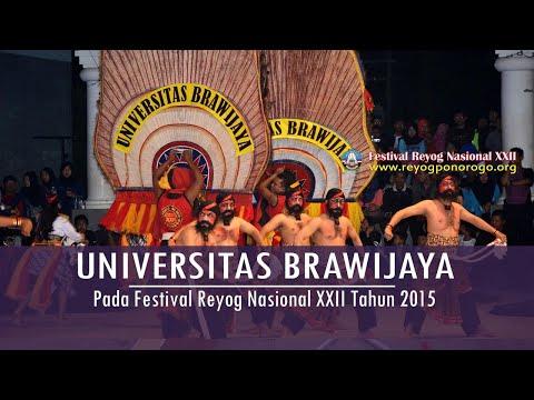 FRN XXII 2015 Rangking II REYOG UNI UNIBRAW Univ. Brawijaya Malang  - Festival Reyog Nasional XXII