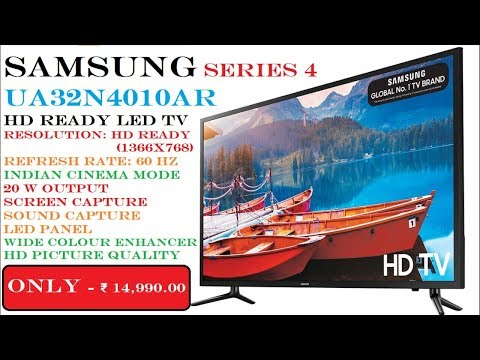 Samsung UA32N4010AR 32Inch Series 4 HD Ready LED TV Unboxing & Review