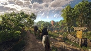The Witcher 3: Wild Hunt PC Gameplay 1080p ULTRA Settings GTX 970