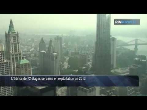 New York: une tour de 72 étages sur les lieux de la tragédie
